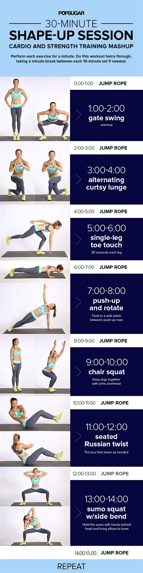 jump rope workout with strength popsugar fitness