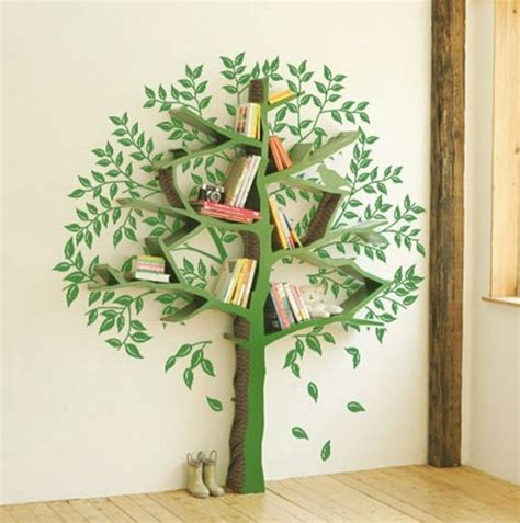 tree bookcase bookshelf envy