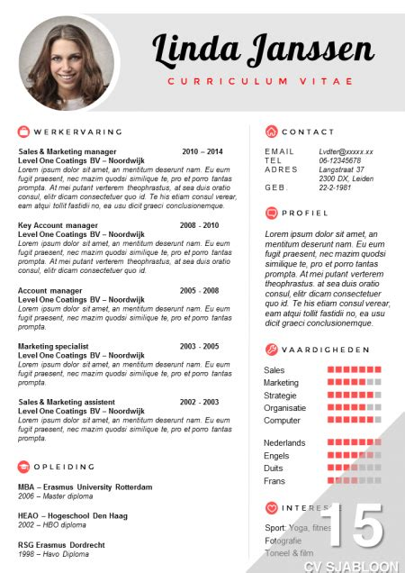 Resume Samples Australia by Cv Sjabloon Bestellen
