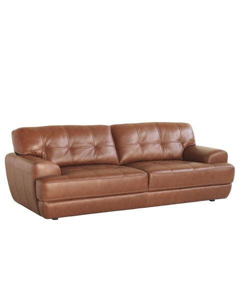 leather sofa macys luca leather sofa furniture macy s architecture home
