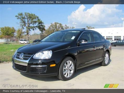 2010 Volkswagen Jetta Limited Edition black 2010 volkswagen jetta limited edition sedan