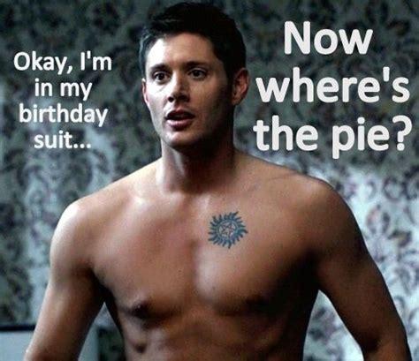 Ackles Birthday Card Happy Birthday Dean D Supernatural Pinterest
