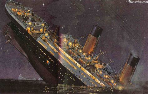 pictures of the titanic sinking how did the titanic sink pictures of the titanic sinking