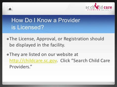 Www Sled Sc Gov Background Check Quality Child Care What You Need To