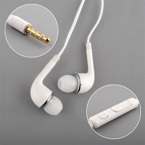 New Earphone For Samsung Galaxy S4 high quality wired headset earphone for samsung