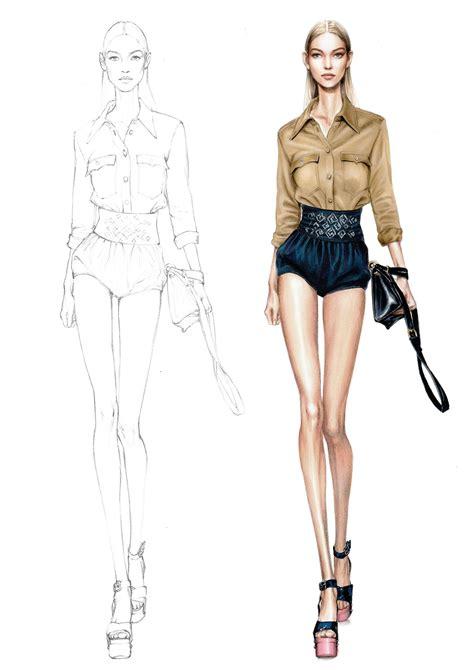 A Fashionable by Alessia Zambonin Istituto Marangoni Fashion Illustration