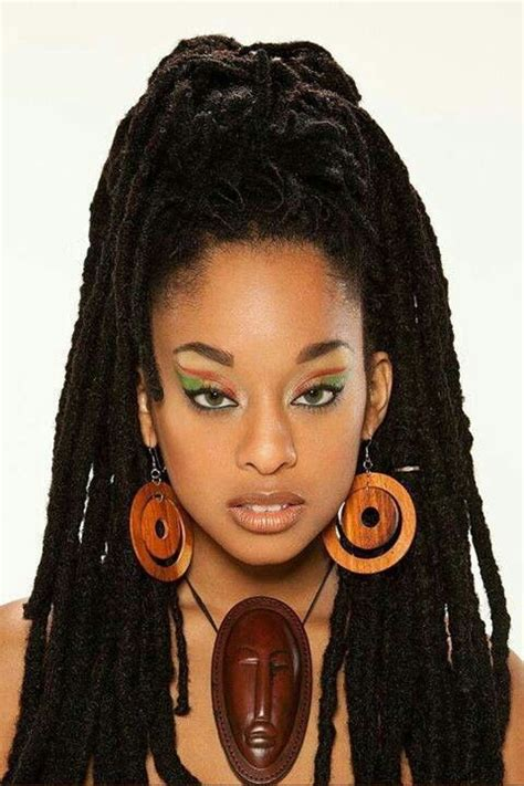 jamaican hairstyles black women 17 best images about african american women s dreadlocks