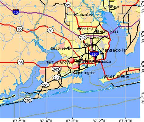 myrtle florida map myrtle grove florida fl profile population maps real
