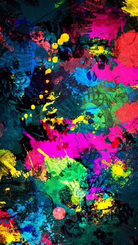 beautiful fantasy colorful art abctract iphone  hd