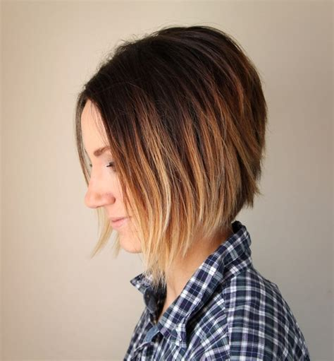 how to cut own back of bob short hair ombre tutorial how to do ombre at home one