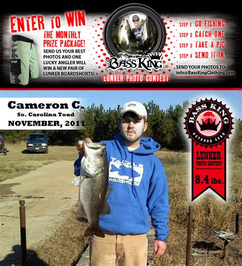 contest winners 2011 bass king news feed bass fishing reports and news