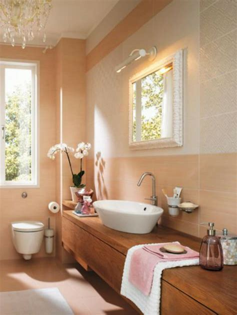 peach bathroom ideas peach bathroom peach fuzz cream pinterest