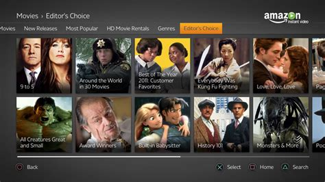 amazon instant video amazon brings streaming service to the playstation 3 techli