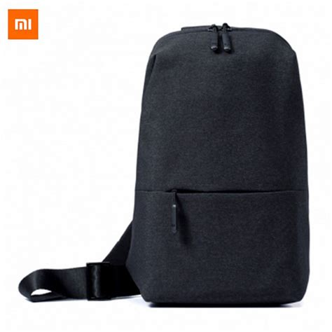Best Seller Xiaomi Multifunctional Crossbody Sling Bag Tas Selempang xiaomi multi functional leisure chest bag grey 4l free shipping dealextreme