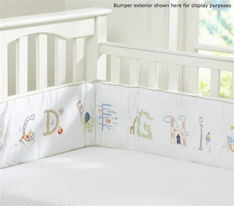 Abc Nursery Bedding Set Pottery Barn Kids Alphabet Crib Bedding
