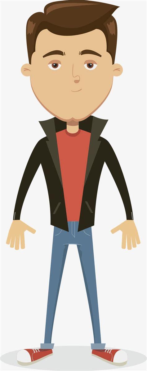 hombre de dibujos animados jugar futbol vector de stock vector de dibujos animados de hombres ropa de cuero