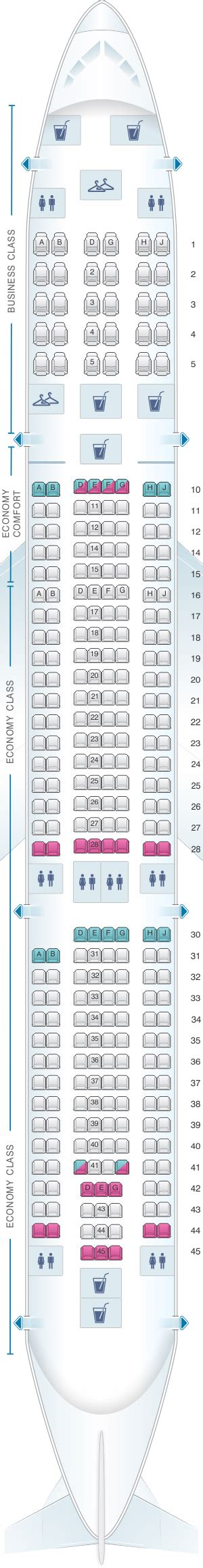 airbus a330 300 seating klm seat map klm airbus a330 300 seatmaestro