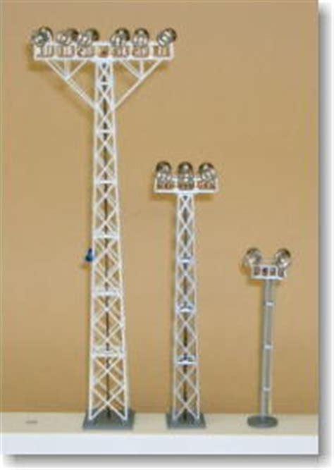 n scale yard lights yard lighting tower medium construction set model