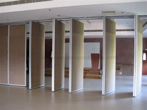 wall partition acoustic and glass operable walls modwal modern partition system pvt ltd