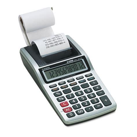 Calculator Printing Casio Hr 8tm casio hr8tm hr 8tm handheld portable printing calculator