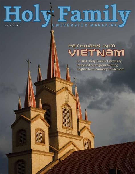 Holy Family Mba Accreditation holy family magazine fall 2011 by holy family