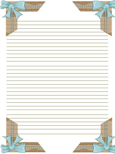 Stationery Paper Printable
