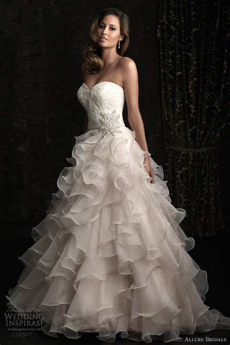 allure bridals fall 2012 collections sponsor highlight