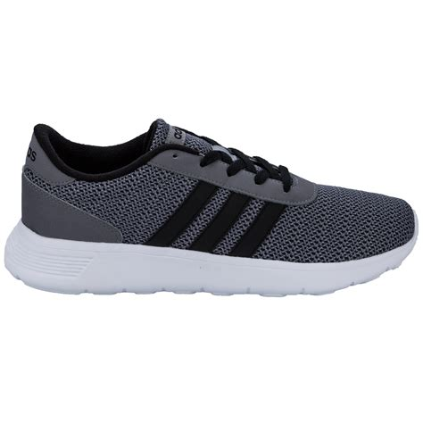 adidas racer lite mens adidas neo lite racer trainers in grey from get the