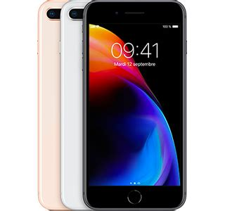 apple iphone 8 plus au meilleur prix