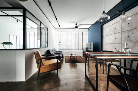 house tour 100 000 industrial chic look in this four house tour 65 000 renovation for this modern industrial
