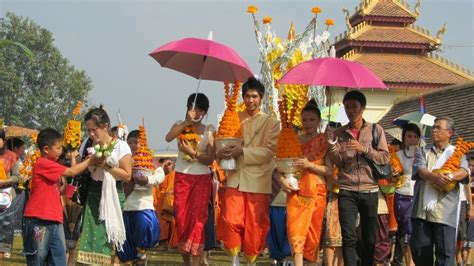 the traditional culture features of laos in laos tours