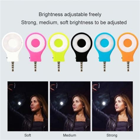 Lu Flash Selfie Led Selfie Light Fill In Smartphon Limited 1 led selfie sync flash light rk07 fill in spotlight for smartphone ios android samsung note 3 4 5