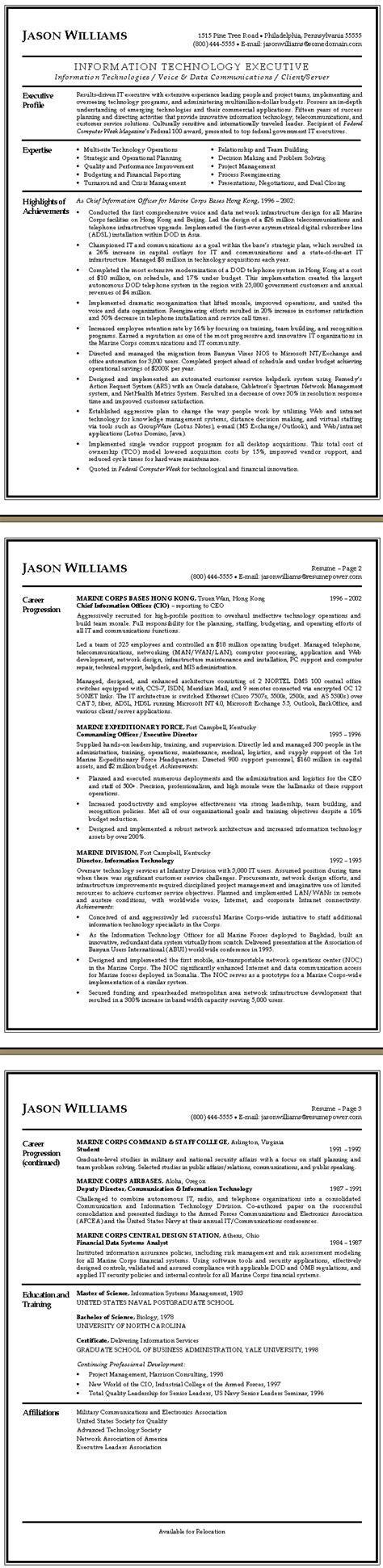 Technology Executive Sle Resume by Technology Executive Resume Sle