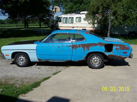 1973 plymouth duster 340 1973 plymouth duster 340 4 speed petty blue space duster