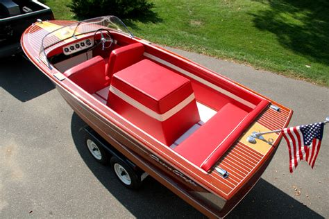 craft upholstery 1959 18 ft chris craft continental