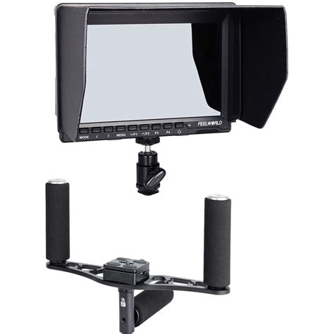Monitor Feelworld feelworld 7 quot ips hdmi monitor and gimbal handle kit b h