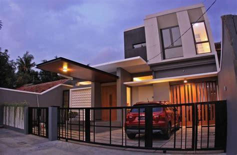 Songkok Kalbut Putih Atas Warna pagar rumah minimalis gura gura house karya phidias indonesia sumber arsitag