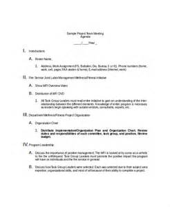 team meeting agenda template 10 team meeting agenda templates free sle exle