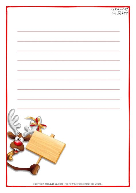 printable paper for santa letter printable letter to santa claus paper template with