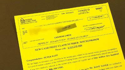 Publishers Clearing House Letter - man loses thousands in publishers clearing house scam fox6now com