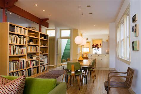 modern bungalow craftsman dining room chicago