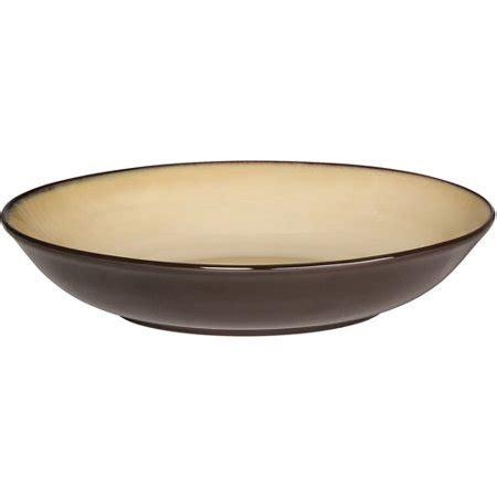 pfaltzgraff ceramic and stoneware cleaner pfaltzgraff studio reactive pasta bowl beige walmart