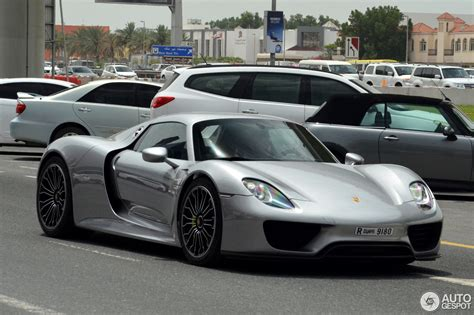 new porsche 918 porsche 918 spyder 16 march 2017 autogespot