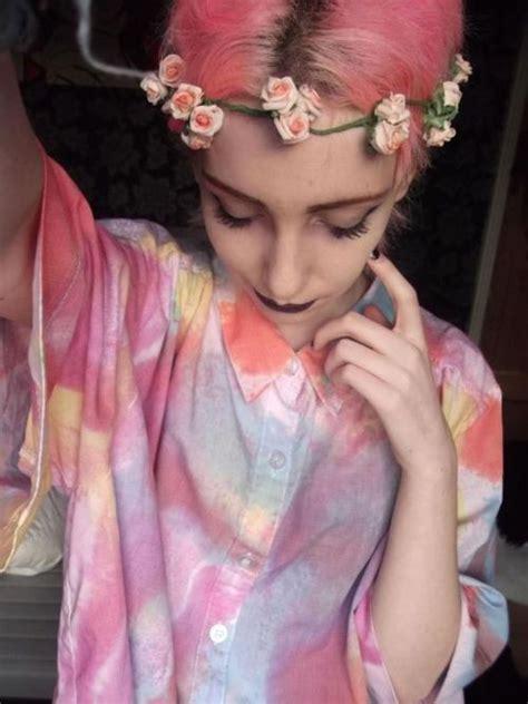 dyed hairstyles tumblr dyed hair on tumblr