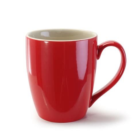 Home Interior Wholesale by Bia Mug Red 15oz