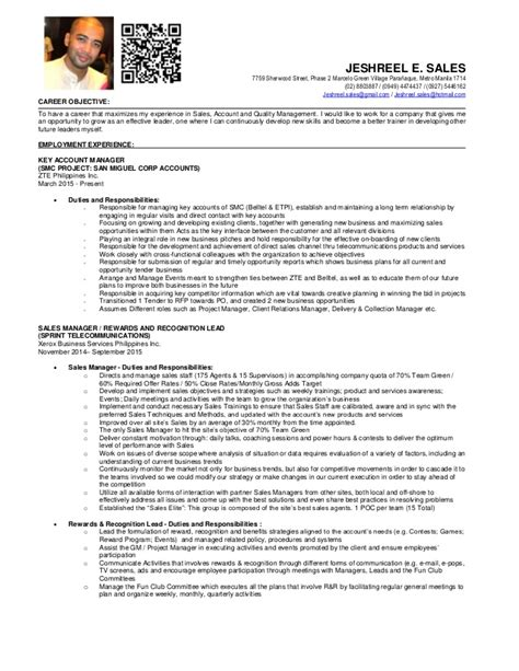 Updated Resume Sle by Updated Resume Sles 28 Images Updating Resume For