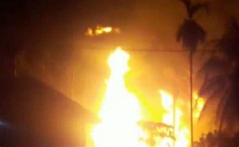 Minyak Lintah Di Aceh kebakaran sumur minyak 10 orang tewas