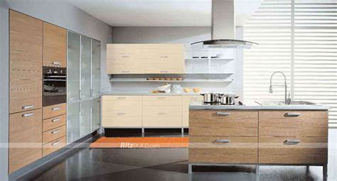Pvc Kitchen Furniture Designs China Home Furniture Pvc Membrane Mdf Board Kitchen