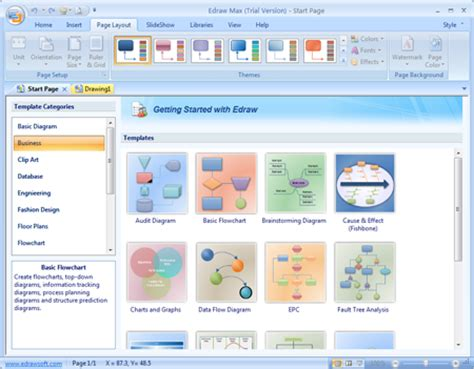 free flowchart software windows flowchart software free version for windows