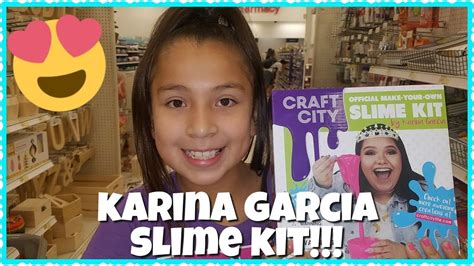 Karina Garcia Giveaway - karina garcia s diy slime kit at target youtube